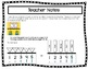 Word Form Cards for Classroom Wall Number Line Black on White