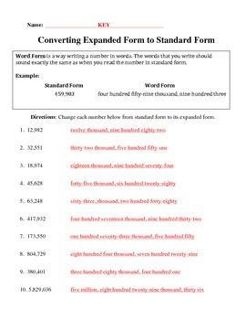 Word Form Practice Packet
