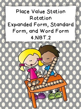 Word Form, Standard Form, and Expanded Form Activities