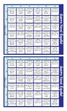 Word Forms Spanish Battleship Board Game