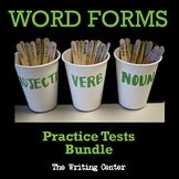 Word Forms and Vocabulary: Practice Tests Bundle