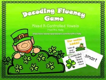 Word Game FREEBIE - R-Controlled Vowels