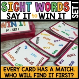 LITERACY CENTERS 1st Grade High Frequency Words SPOT THAT