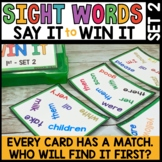 High Frequency Word Practice Game | Spot That Word Unit 2