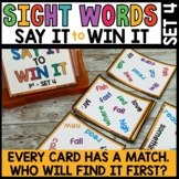 High Frequency Word Practice Game | Spot That Word Unit 4