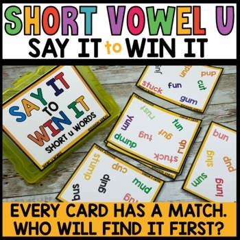 LITERACY CENTERS Word Game (SPOT THAT WORD) Free Sample