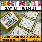 LITERACY CENTERS Word Game SPOT THAT WORD Free Sample
