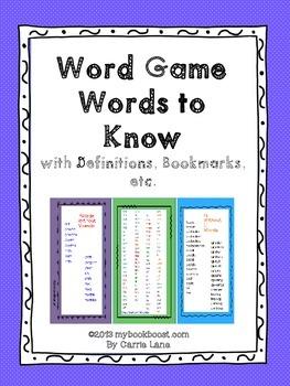 Word Game Words