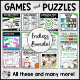 Word Games and Puzzles Bundle