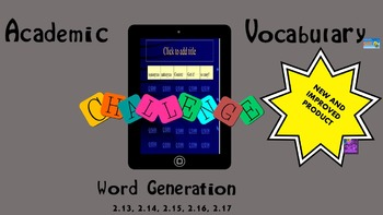 Word Generation/Academic Vocabulary Review