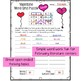 Valentine Vocabulary Word Grid Activities (5 Days of Fun)