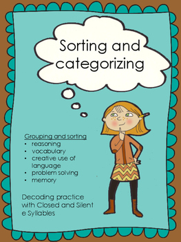 Word Sorting and Categorizing