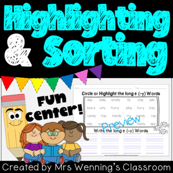 Word Highlighting & Sorting Templates!