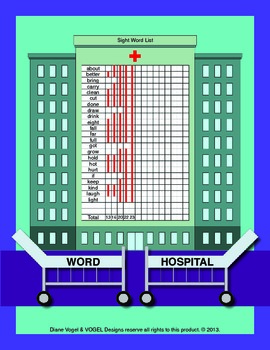 Dolch Word Hospital