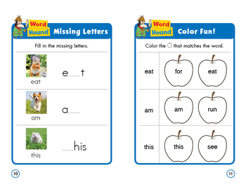 Sight Word Stories Mini Books: Eat, Am, This