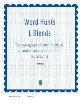 Word Hunt BL, PL, SL, CL
