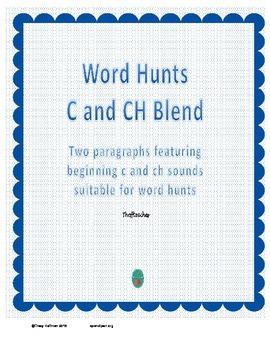 Word Hunt C vs CH