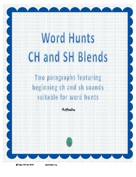 Word Hunt CH vs SH