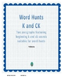 Word Hunt K and CK