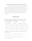 Word Hunt: Letter Name Alphabetic 24: br, bl, gr, gl blends