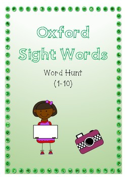 Oxford Sight word Hunt 1 - 10