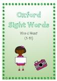 Oxford Sight word Hunt 1 - 10