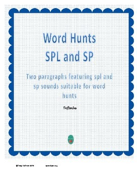 Word Hunt SPL vs SP