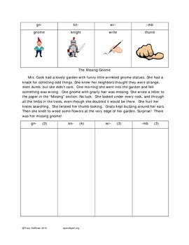 Word Hunt Silent Letters