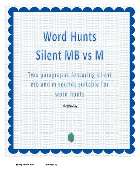 Word Hunt Silent MB vs M