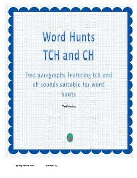 Word Hunt TCH vs CH