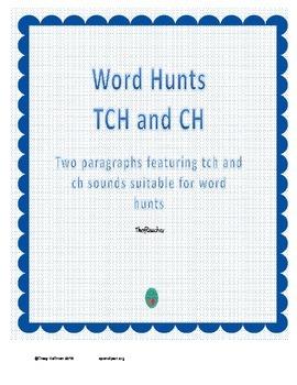 Word Hunt TCH vs CH