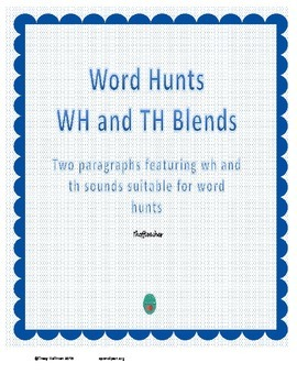 Word Hunt WH and TH