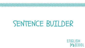 Word Hunting - Sentence Building