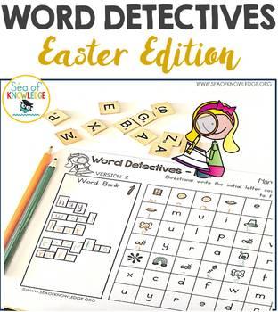 Word Hunts Easter
