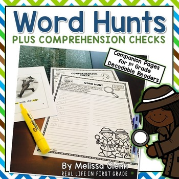 Treasures Word Hunts Plus Comprehension Checks for Treasures Decodable Readers