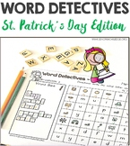 Word Hunts St Patrick's Day