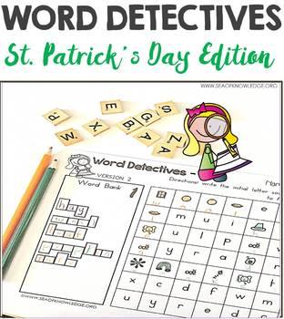 Word Hunts St Patrick's Day