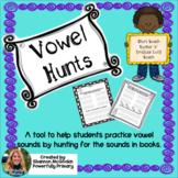 Literacy Center | Word Hunts for Short & Long Vowel Patterns #loveliteracy