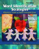 Word Identificatin Strategies