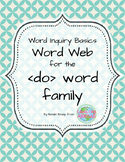 Word Inquiry Basics: Word web for the 'do' word family