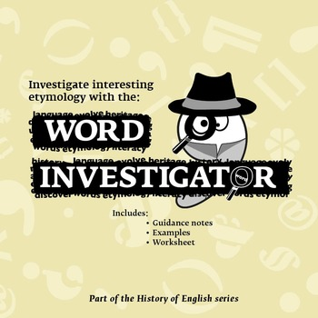 Word Investigator - English Language History