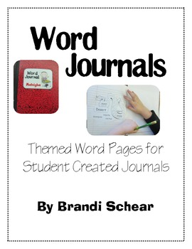 Word Journal for Beginning Writers