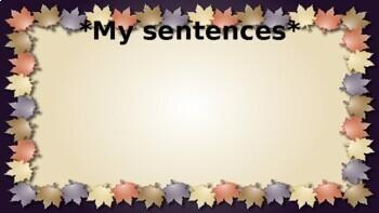 Word Journeys Word Sort Sentences for Google Classroom
