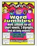 Word Jumbles - Phonics Workshop