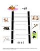 """Word Ladder- Companion to """"Jump!"""" by Scott Fischer -og  -at  -ound"""