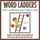 Word Ladders 1-5