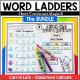 Word Ladders Bundle   Short Vowels & CVCe