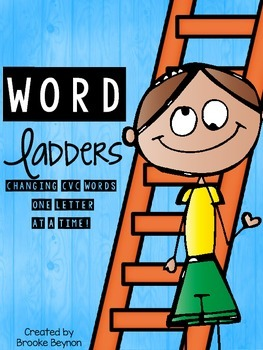 Word Ladders - Changing CVC words