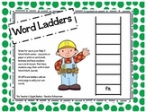 Word Ladders - Daily 5 Word Work Activity