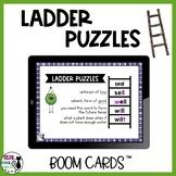 Word Ladder Puzzles Digital Boom Cards™